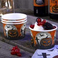 Graveyard Gathering Treat Tubs (8)